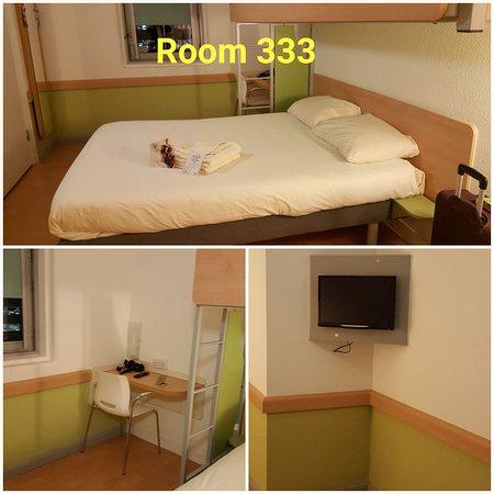 Hotel ibis budget Birmingham Airport: Room 333