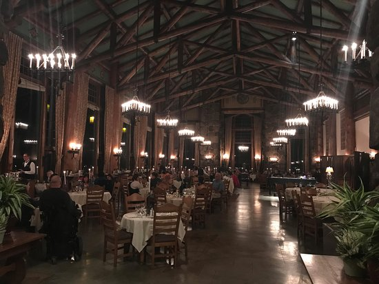The Majestic Yosemite Dining Room: Dining Room Night View