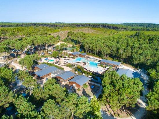 Camping Sandaya Soustons Village: Vue aérienne du Camping Soustons Village