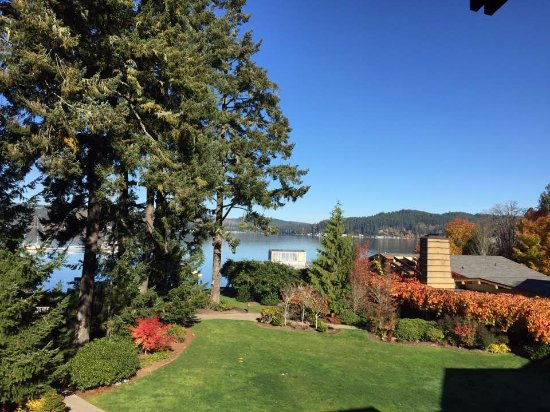 Alderbrook Resort & Spa: View from room 301