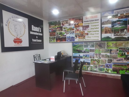 Rana's Travel Counter & Information Center