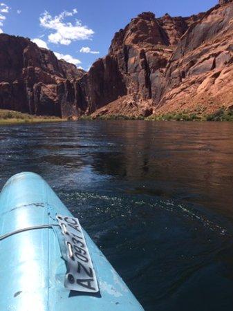 Colorado River: into the canyon