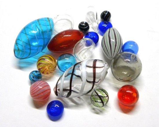 La Bigiotteria di Pitterl Claudia: Perle in vetro soffiato e vetro di Murano
