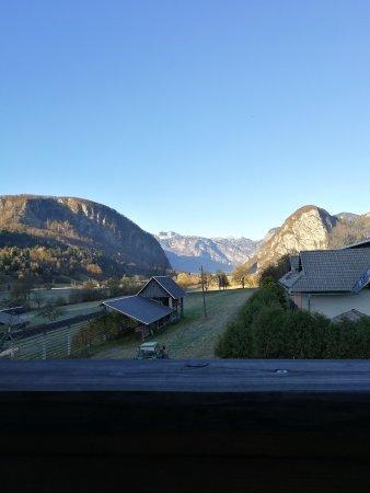 Srednja vas v Bohinju, Σλοβενία: Prelep razgled, pijetno vzdusje in zelo prijazno osebje!