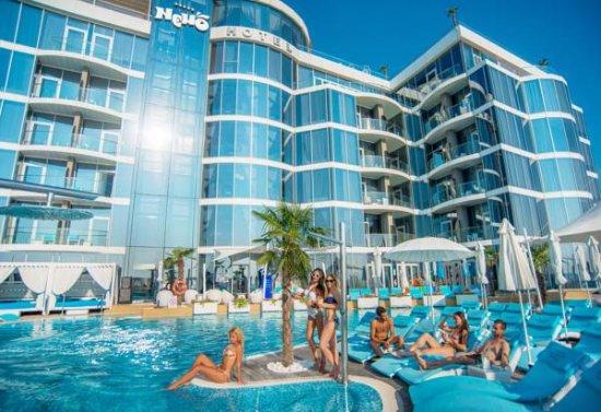 Nemo Beach Club Пляжный комплекс Resort Spa Hotel With Dolphins