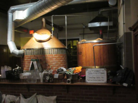 Madison Brewing Co. Brew Pub & Restaurant: Craft Beer Vats