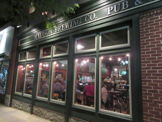 Madison Brewing Co. Brew Pub & Restaurant: Exterior