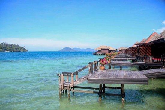 Pulau Gaya, Malezya: 海景屋外觀
