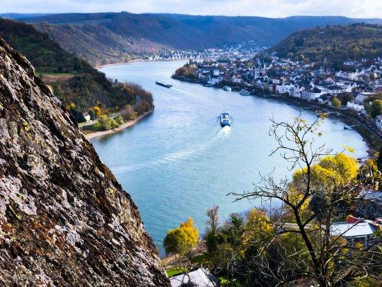 Klettersteig Mittelrhein : Traumschleife mittelrhein klettersteig boppard