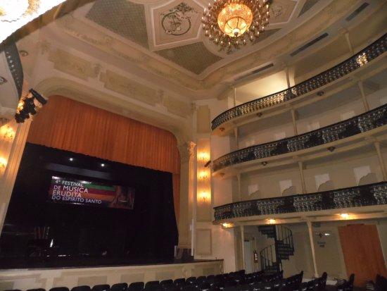 Theatro Carlos Gomes : Parte interna do teatro.