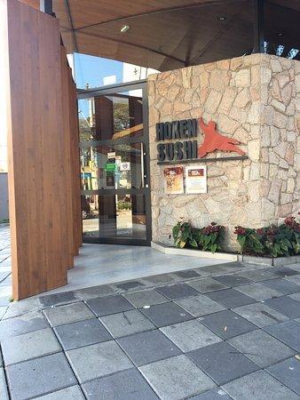 Hoken Sushi: Faixada do restaurante