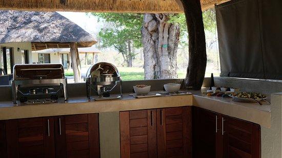 Senalala Luxury Safari Camp: delicious food