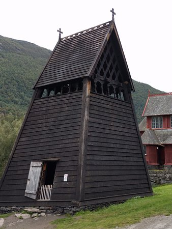 Borgund Stave Church: Torre do sino