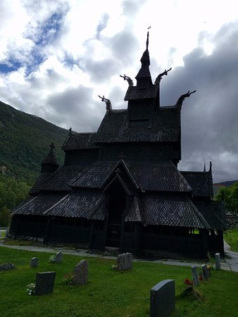 Borgund Stave Church: Vista exterior