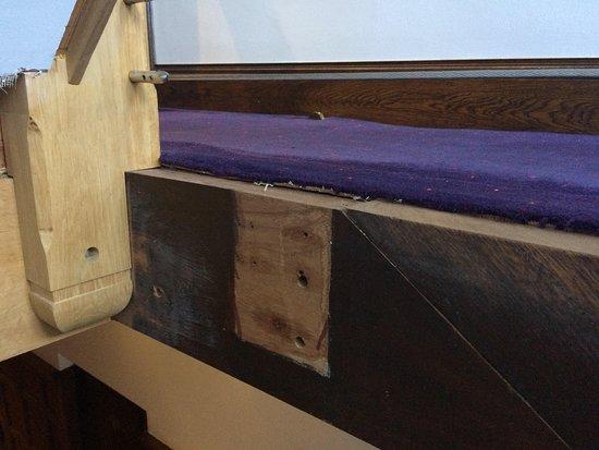 Frankby, UK: More haphazard woodwork...