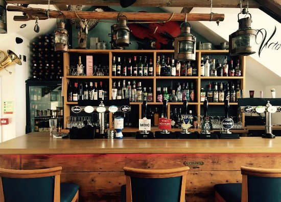 Borth, UK: Upstairs Bar