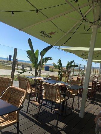 Bel Air Hotel: terraza del restaurante