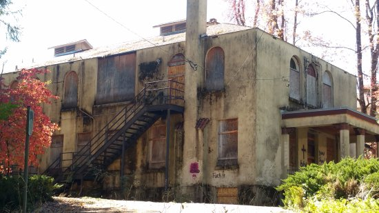 Nevada City, Californie : Once a very active county hospital