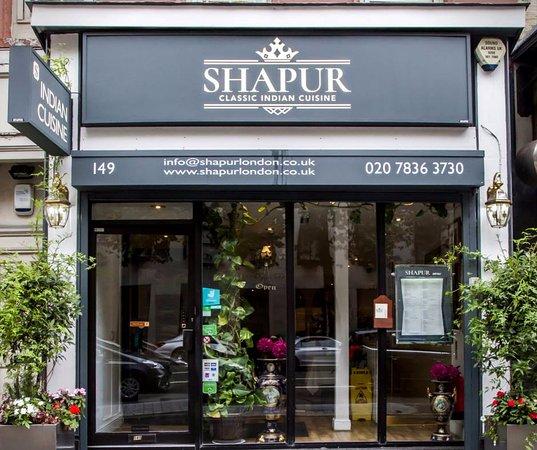 Shapur indian restaurant london trafalgar square