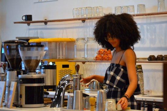 Hidden Grounds Espresso Bar: Barista Expert