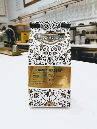 Hidden Grounds Espresso Bar: Rwanda Beans