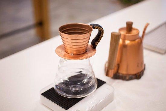 Hidden Grounds Espresso Bar: Pour Over Coffee