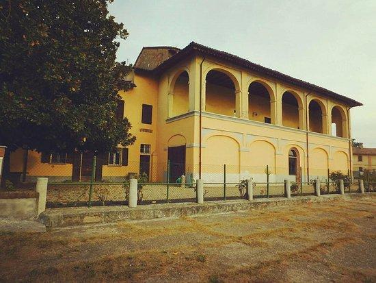 Corteolona, Italy: Il palazzo nel complesso  Cascina Castellaro