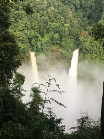 Paksong, Laos: the view from the restaurant
