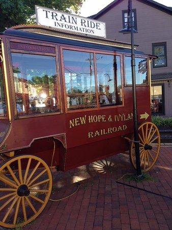 New Hope & Ivyland Railroad: New Hope Train Ride