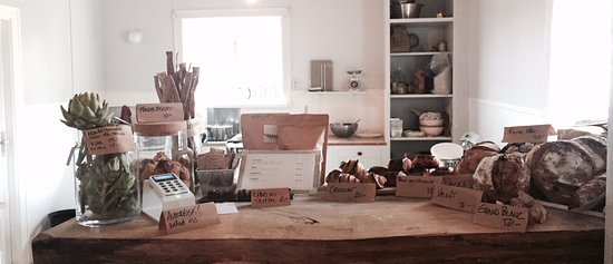 Hallefors, Swedia: Kafé
