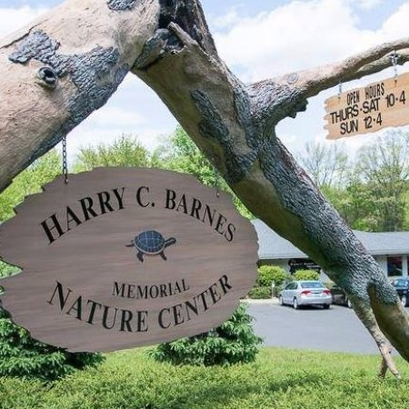 Bristol, CT: Entrance to Harry C. Barnes Memorial Nature Center