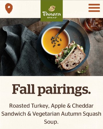 Panera Bread: Photo0. Garden Vegetable Soup ...