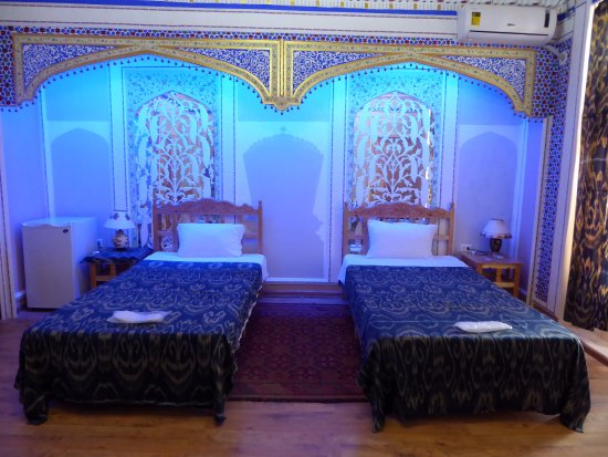 "K. Komil Bukhara Boutique Hotel: chambre double ""deluxe"""