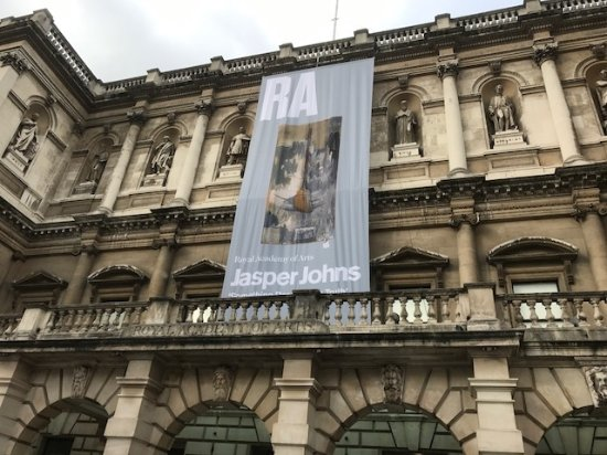 Royal Academy of Arts: Jasper Jones exhibit