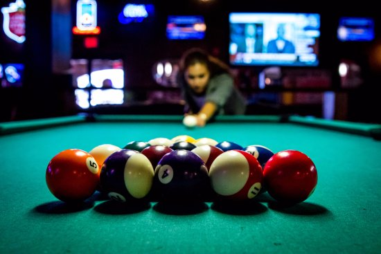 Grand Station Entertainment: Break 'em in our sports bar.
