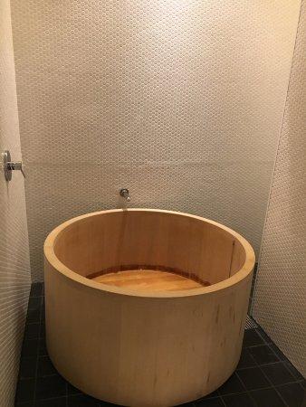 Hotel Kanra Kyoto: 檜の五右衛門風呂