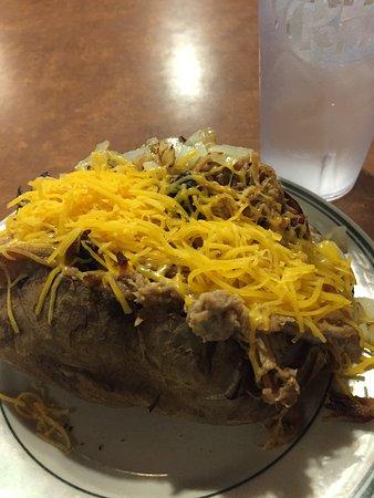 Monteagle, TN: the pulled pork potato