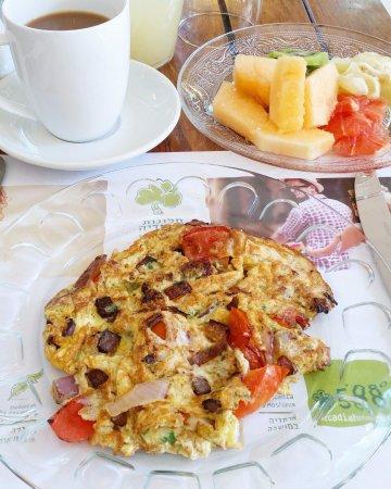 Arcadia Ba'Moshava Jerusalem : Daily made-to-order breakfast