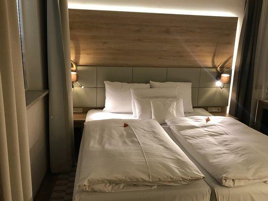 Drei Loewen Hotel: Gemütliches Bett