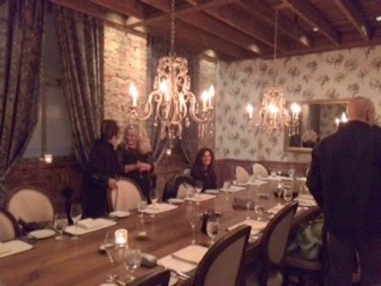 Boca: private dining area