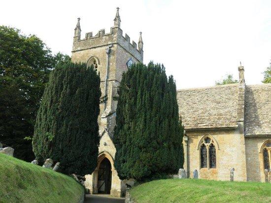 Upper Slaughter, UK: St Peter's Church