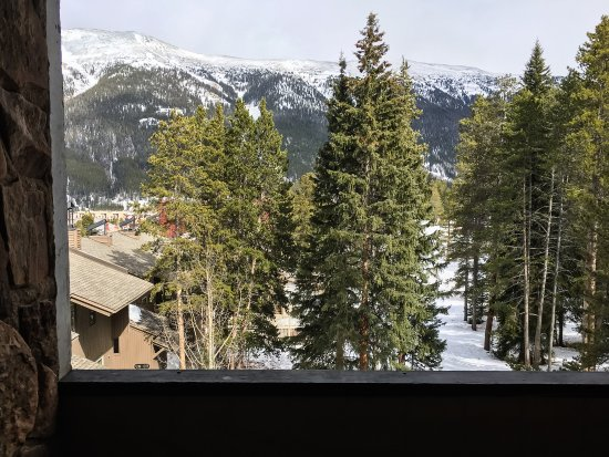 Copper Mountain, CO: Balcony and View