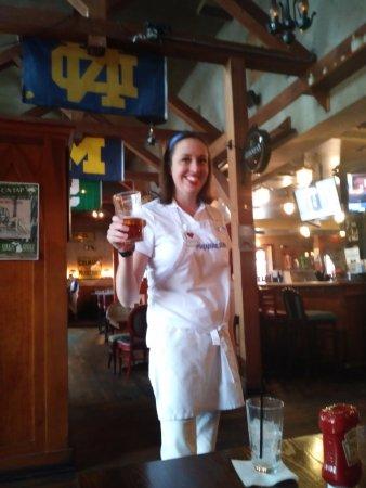 Claddagh Irish Pub Bartender in costume as Flo from Progressive Ins.  sc 1 st  TripAdvisor & Bartender in costume as Flo from Progressive Ins. - Picture of ...