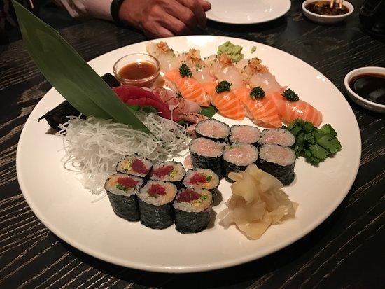 Nobu: Sushi selection. wow!