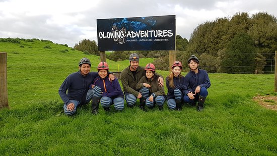 Te Kuiti, نيوزيلندا: All dressed and ready for an adventure