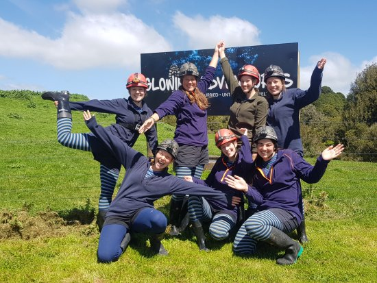 Te Kuiti, نيوزيلندا: All ready and off for an adventure!