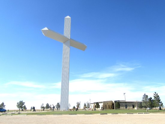 crucifiction the cross of our lord jesus christ groom texas