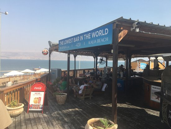 Kalia, Palestinian Territories: The Lowest Bar in The World
