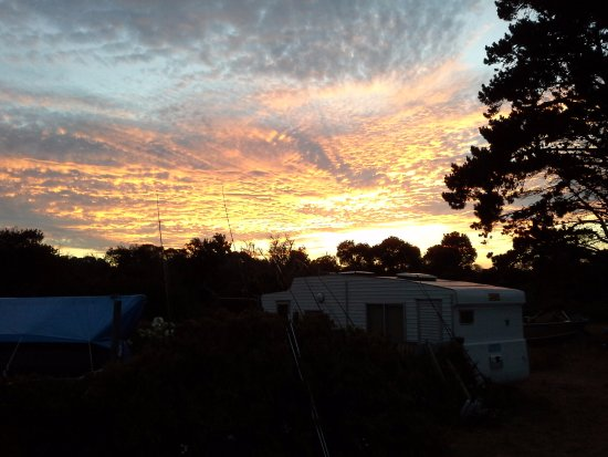 Tasmania, Australia: Sunset at Tomahawk