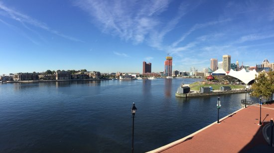 Four Seasons Baltimore : Harbor view from hotel